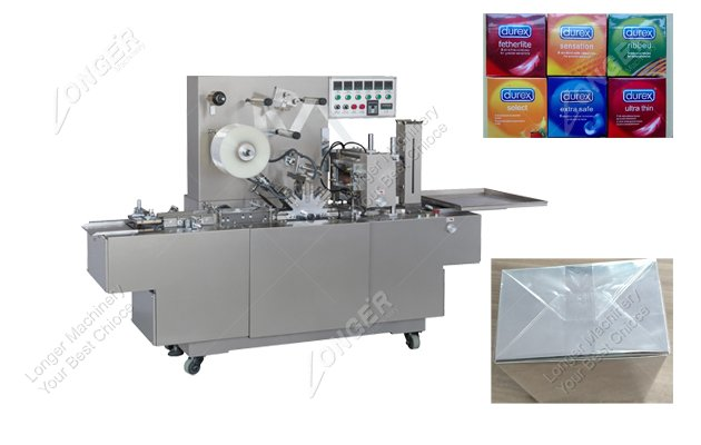 Automatic Cellophane Overwrapping Machine|Bopp Film Box Wrapper Supplier