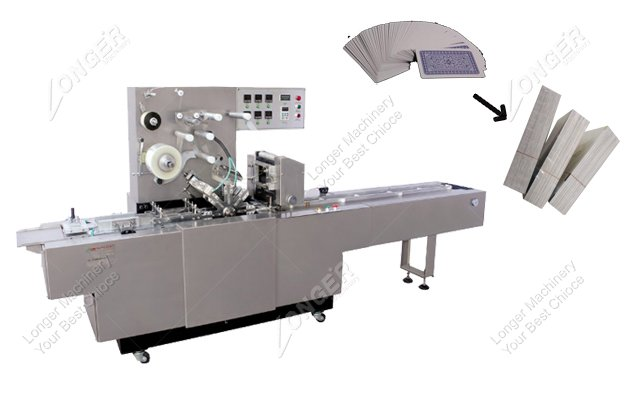 Automatic Playing Cards Wrapping Machine|...