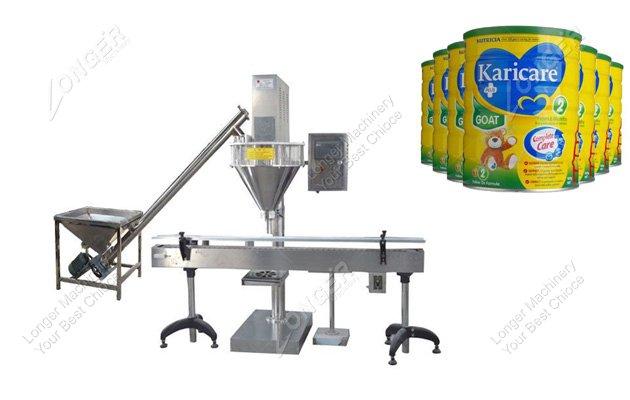Automatic Milk Powder Can Filling Packing...