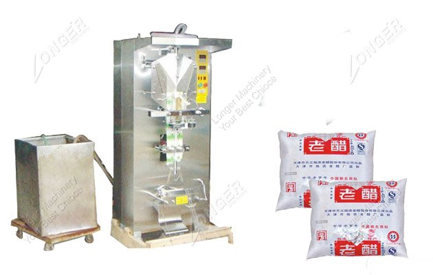 Automatic Liquid Milk Pouch Packing Machi...