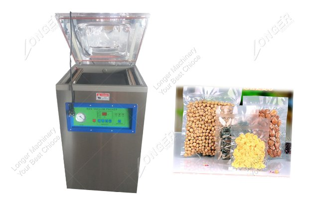 DZ 400 Small Cashew Nut Vacuum Packing Ma...