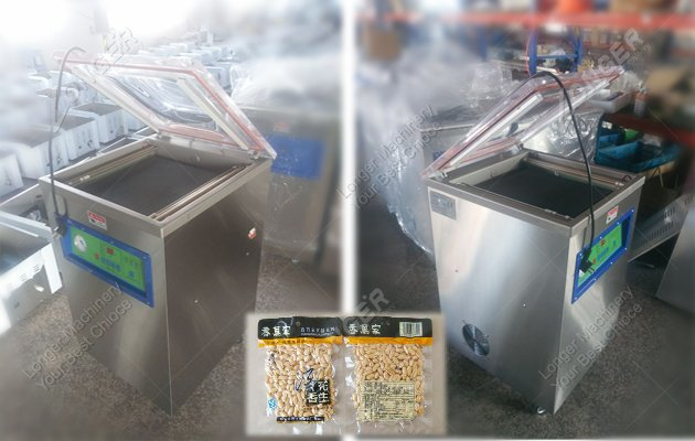 nuts vacuum packaging machine