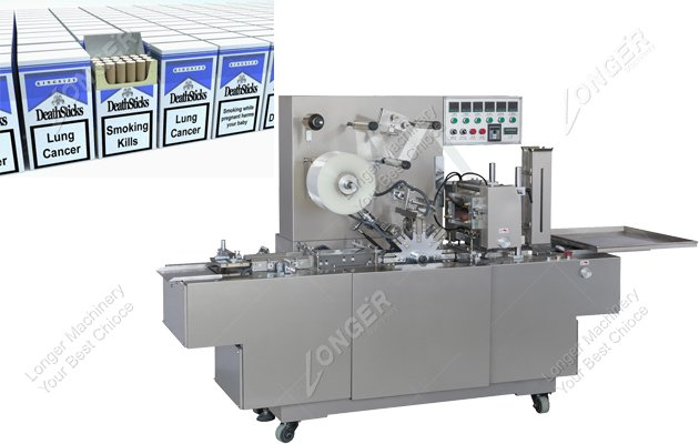 Sold Cigarette Box Wrapping Machine to Turkey