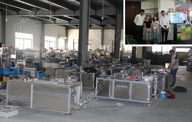 Medicine Boxes Packing Machine Sold to India