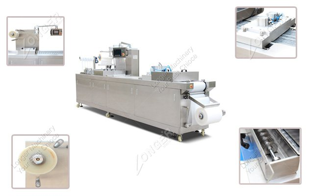 Automatic Vacuum Packing Machine |Stretch...