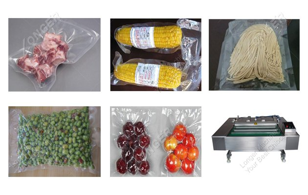 Continuous rolling vacuum packaging machine for sale