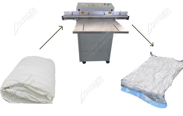outside pumping vacuum packing machine