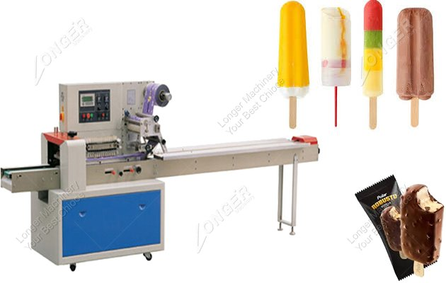 Custom Ice Popsicle Packaging Machine For Sale