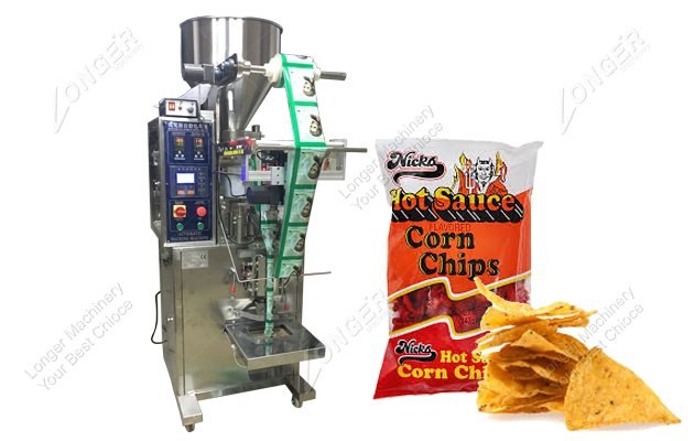 High Speed Automatic Vertical Corn Chips Packing Machine