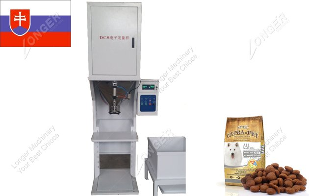 Sold Dog Food Packing Machine To Slovakia