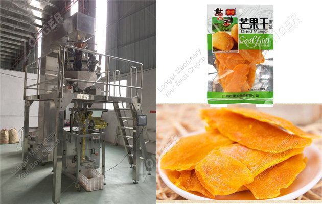 dry mango slice packing machine