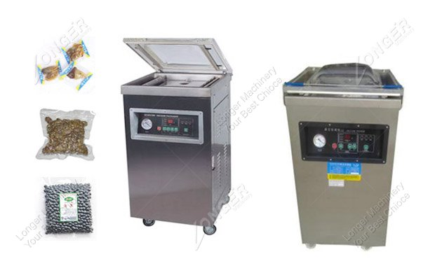 how does a vacuum packing machine work