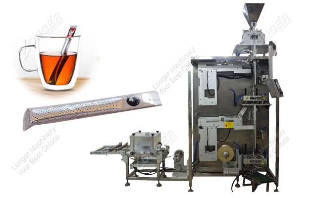 Stick tea bag packing machine