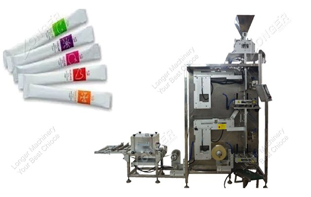 Stick pack packaging machine