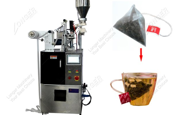 Low Price Pyramid Tea Bag Packing Machine
