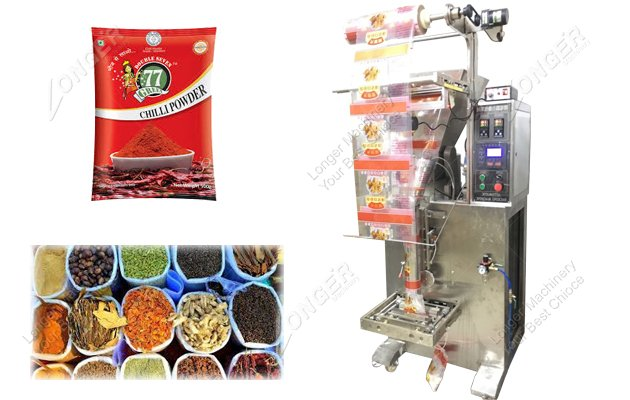 Small Spice Packing Machine