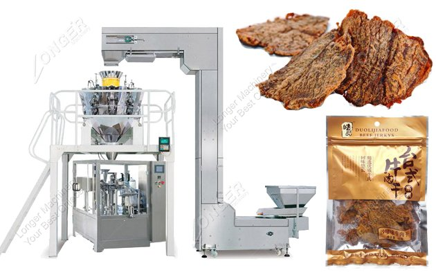 Automatic Beef Jerky Packaging Machine For Sale