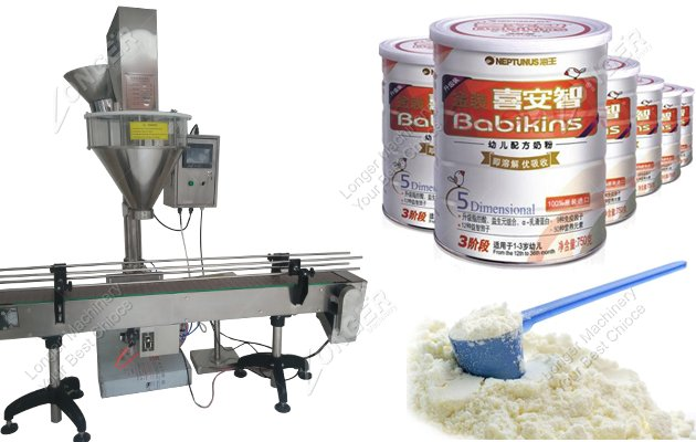 Milk Powder Can Packing Machine