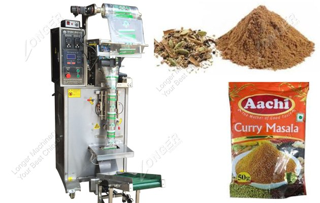 Fully Automatic Small Masala Packing Machine For Business