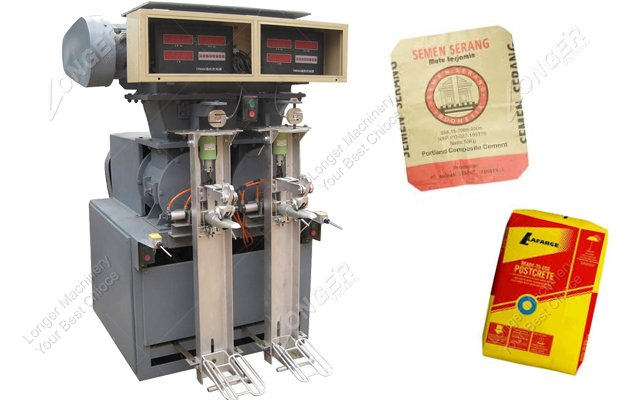 Two Spouts Cement And Dry Mortar Packing Machine Suppliers