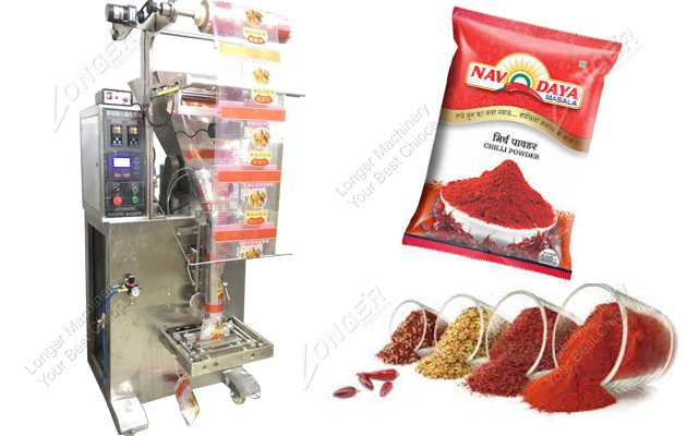 High Efficiency Automatic Chili Powder Packing Machine Price