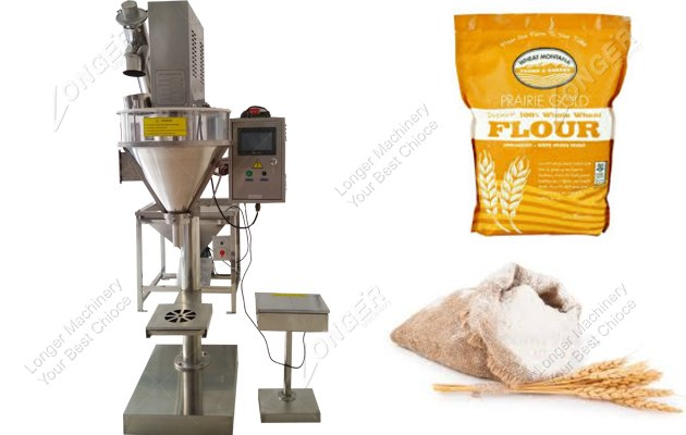 Semi Automatic Wheat Flour Packing Machine For Sale