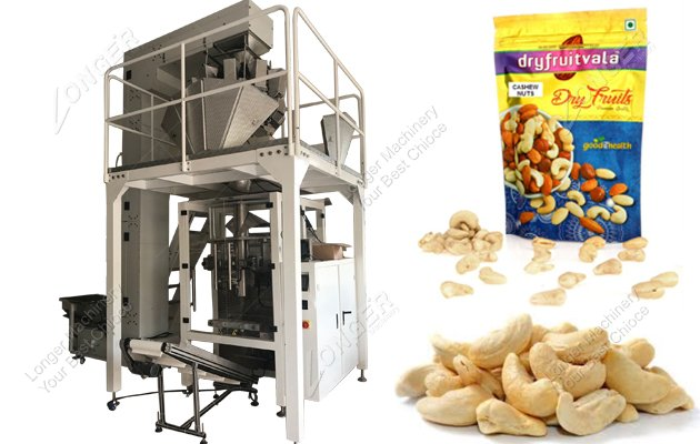 Buy Automatic Peanut Packing Machine For Cashew Nut