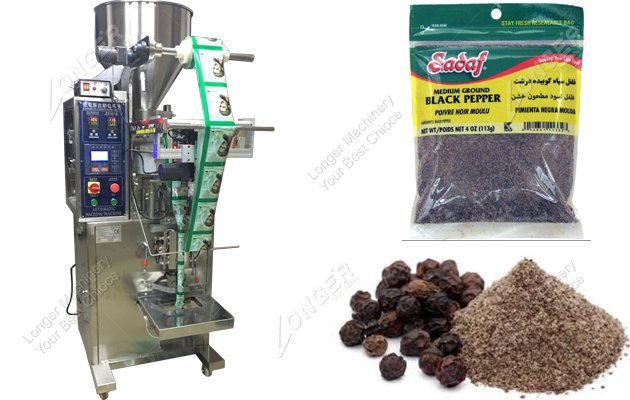Stainless Steel Automatic Salt Black Pepper Packing Machine
