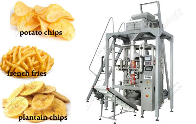 Automatic Plantain Chips Weighing An Packaging Machine