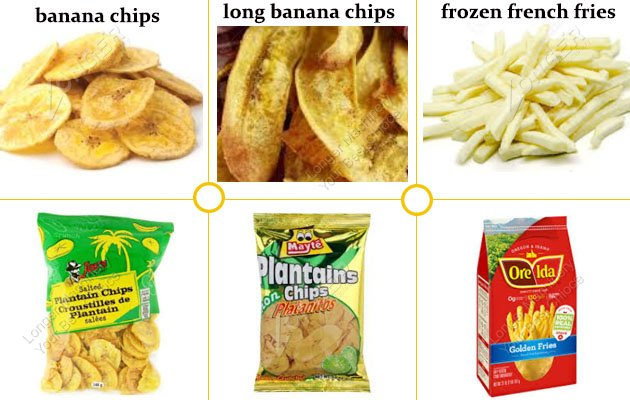 Plantain Chips Packing Machine Packing Sample
