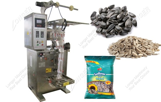 Stainless Small Sunflower Seeds packet Packing Machine Price List