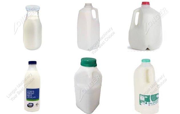 Milk Bottle Samples