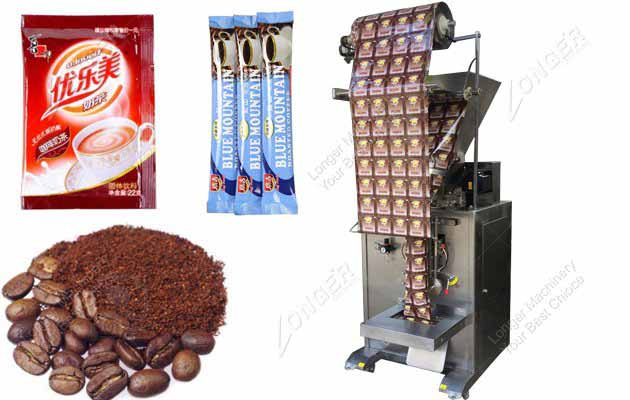 Automatic Instant Coffee Powder Packing M...