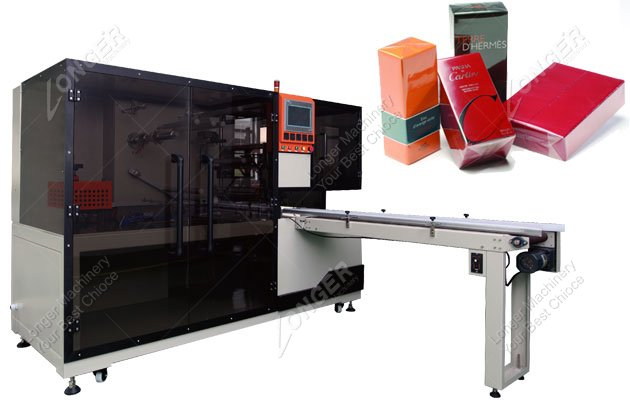 Industrial Fully Automatic Cellophane Wrapping Machine For Cosmetics Box
