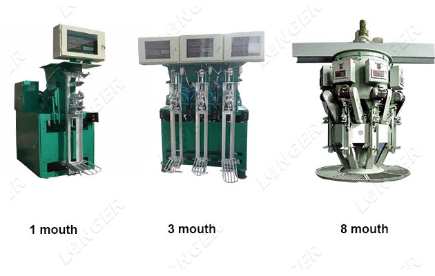 cement packing machine capacity