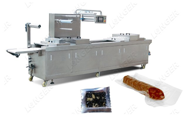 Automatic Thermoforming Vacuum Packaging ...