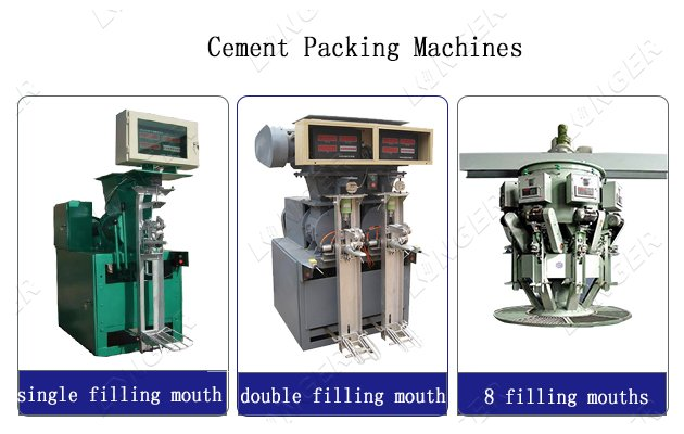 Types of Cement Packing Machines