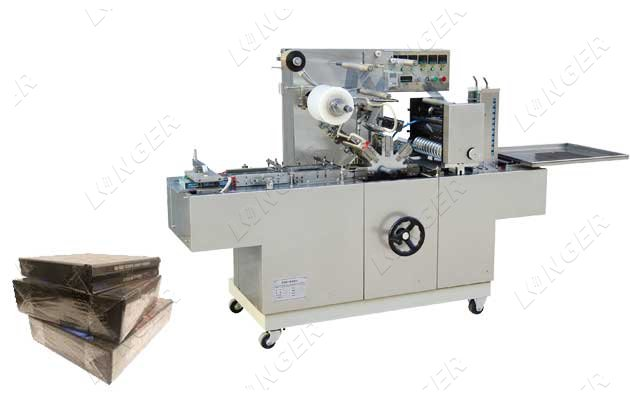 <b>BTB-300A DVD&CD Case Wrapping Machine Full Automatic</b>