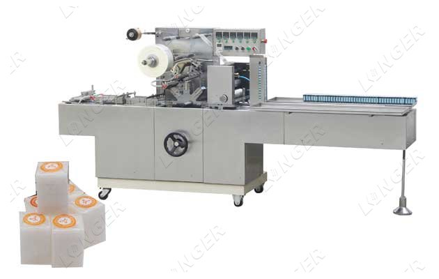 Fully Automatic Camphor Block Tablets Wrapping Machine