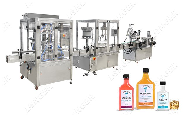 Automatic Beverage Filling Bottling Machine Manufacturers