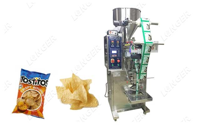 Vertical Corn Tortilla Chips Packing Machine