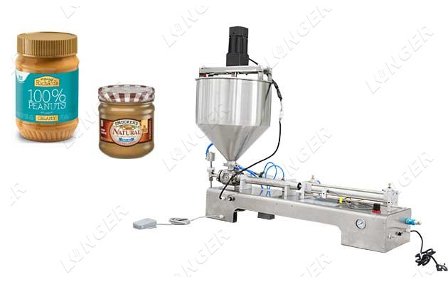 Thick Paste Peanut Butter Filling Machine...