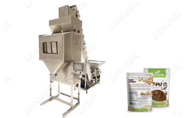 Semi Automatic Bag Weighing And Filling Machine for Grain