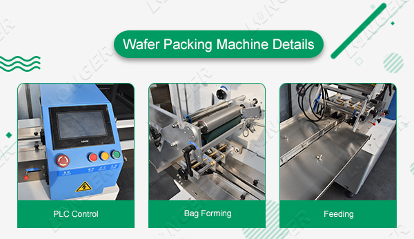 Wafer biscuit packing machine details