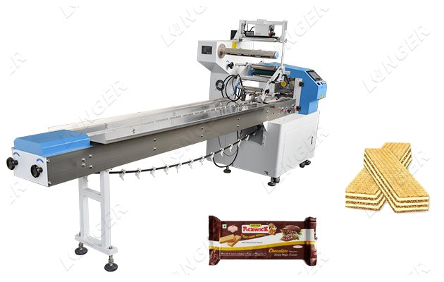 Automatic Chocolate Wafer Biscuit Packing Machine