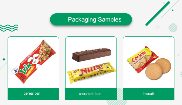 snack bar packaging machine