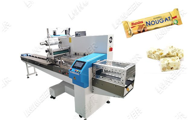 Fully Automatic Nougat Candy Packaging Ma...