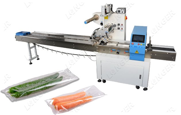Automatic Vegetable Packing Machine System Multifunction