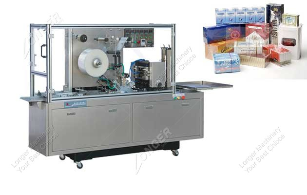 perfume box cellophane wrapping machine