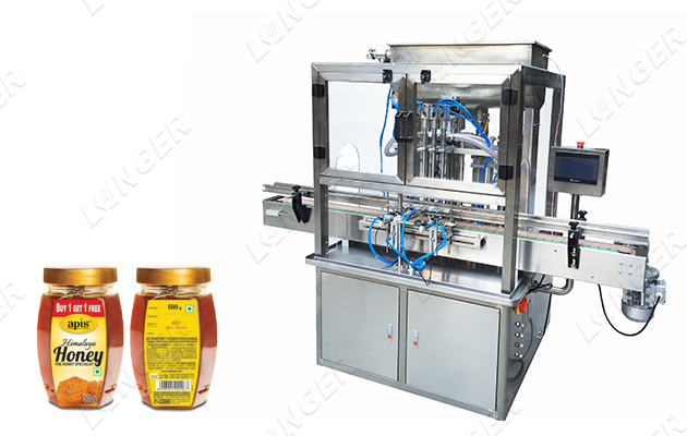 Basil Seed Drink Filling Machine